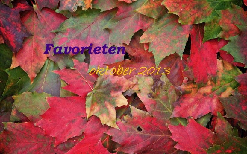 Favorieten oktober 2013