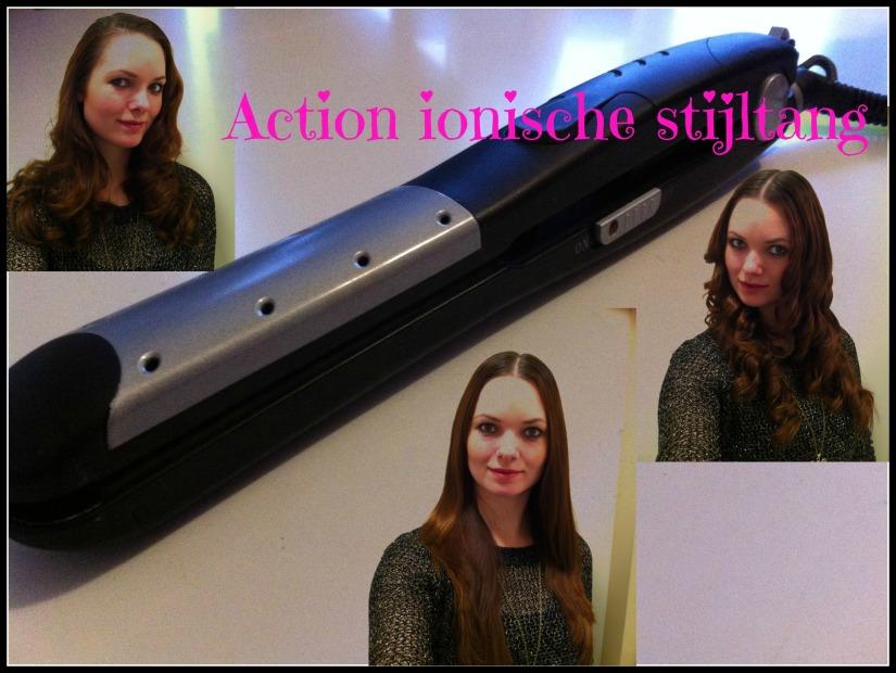 Action ionische stijltang, voor nat en drooghaar.