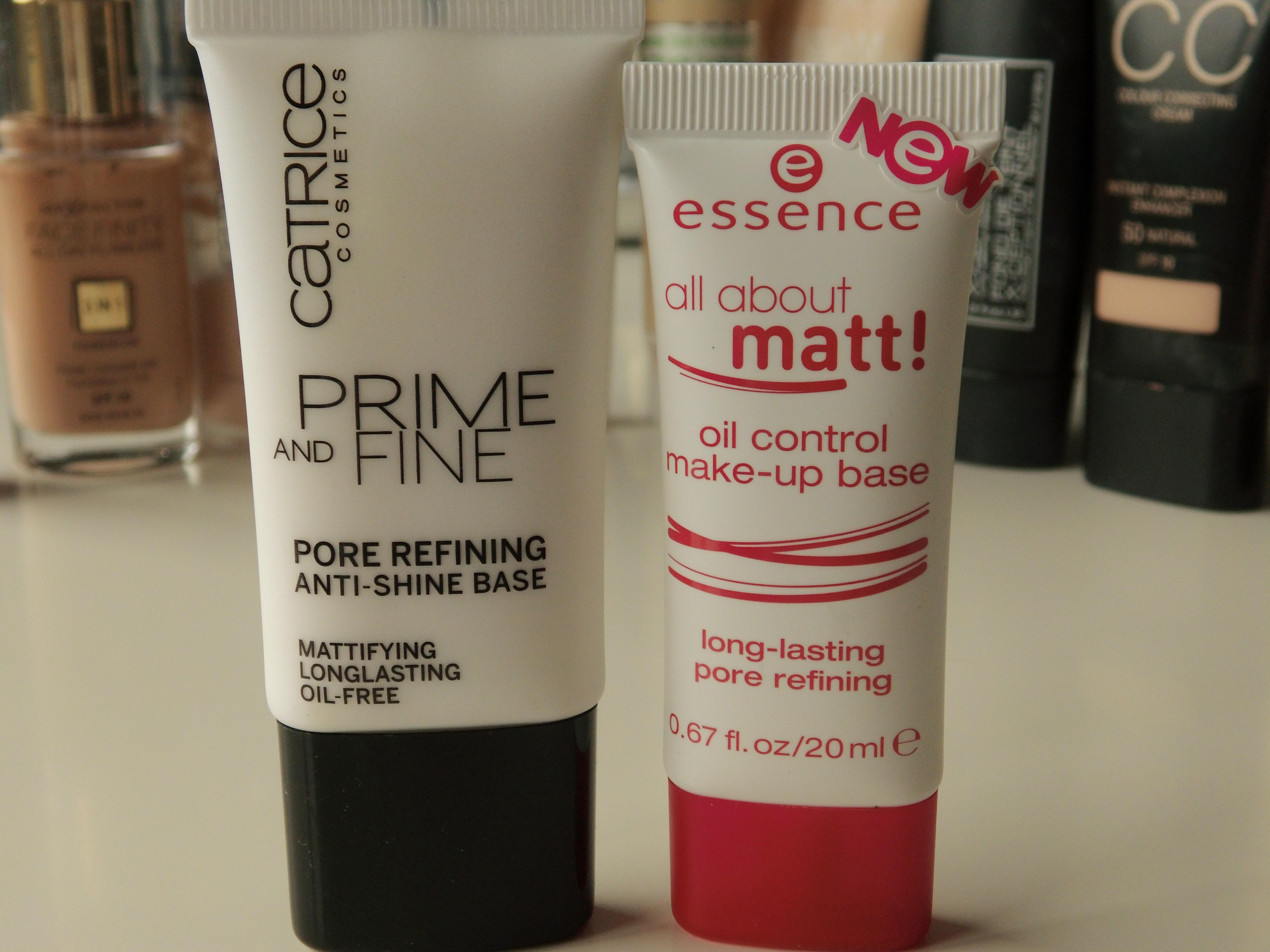 Catrice & Essence face primer. – Shoppingsarah