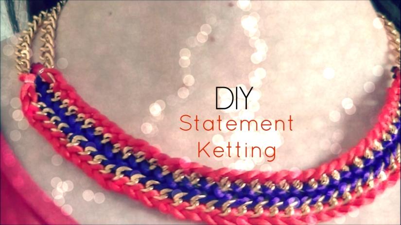 DIY; Statement Ketting